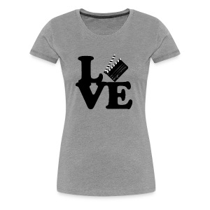 I LOVE FILM - WOMEN'S TEE - Women's Premium T-Shirt
