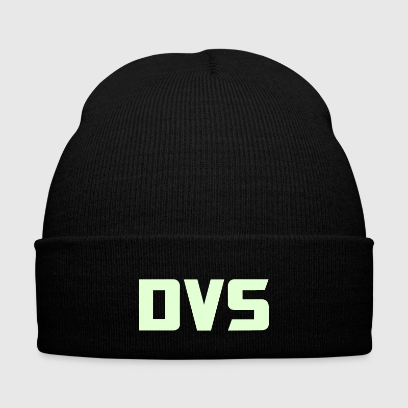 DVS Beanie glow in the dark - Knit Cap with Cuff Print
