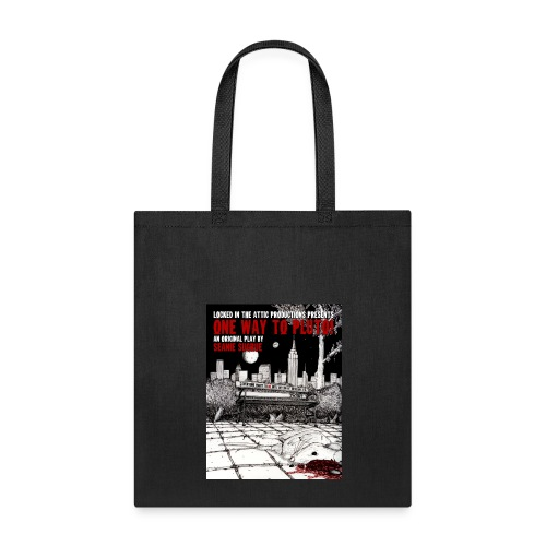 One Way To Pluto! Tote - Tote Bag