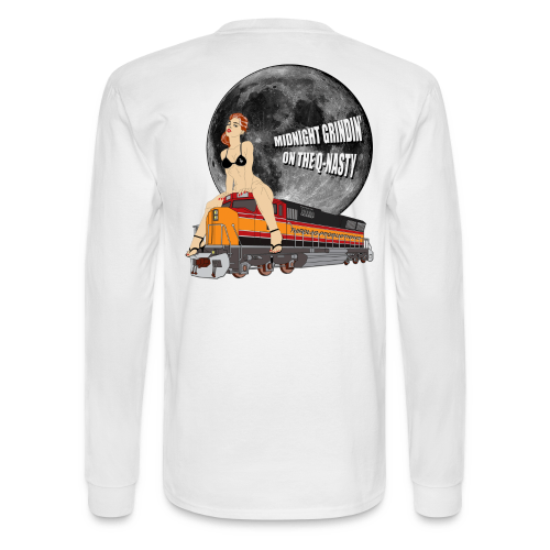 MIDNIGHT GRINDIN' LONGSLEEVE - Men's Long Sleeve T-Shirt