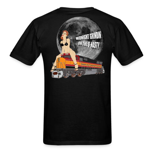 MIDNIGHT GRINDIN' BLK - Men's T-Shirt