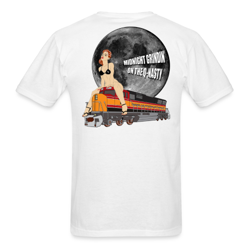 MIDNIGHT GRINDIN' - Men's T-Shirt