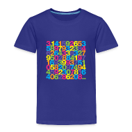Baby & Toddler Shirts ~ Toddler Premium T-Shirt ~ Rainbow Pi toddler shirt