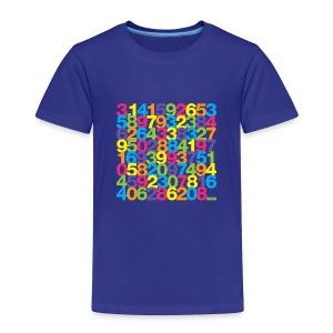 Rainbow Pi toddler shirt - Toddler Premium T-Shirt