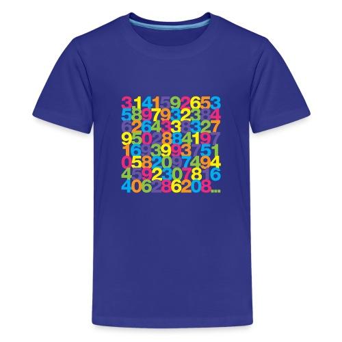 Rainbow Pi kids' shirt - Kids' Premium T-Shirt