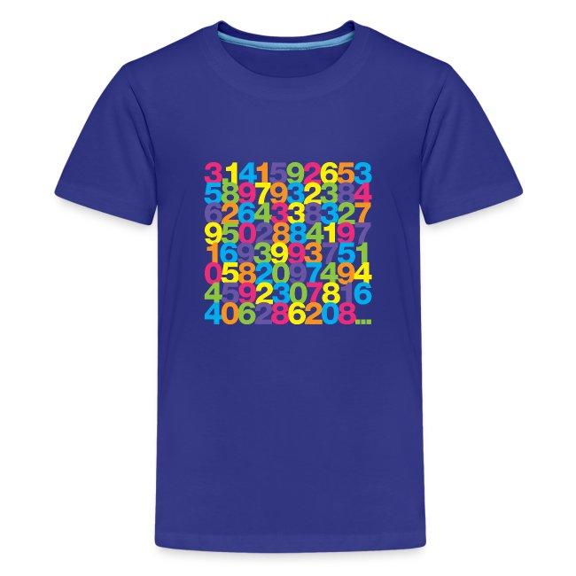 Rainbow Pi kids' shirt