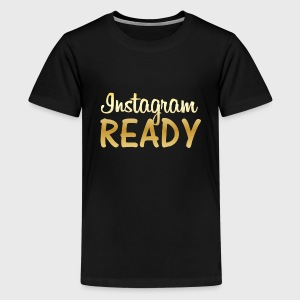 Instagram READY - Kids' Premium T-Shirt