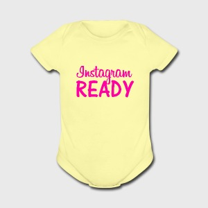 Instagram READY - Short Sleeve Baby Bodysuit