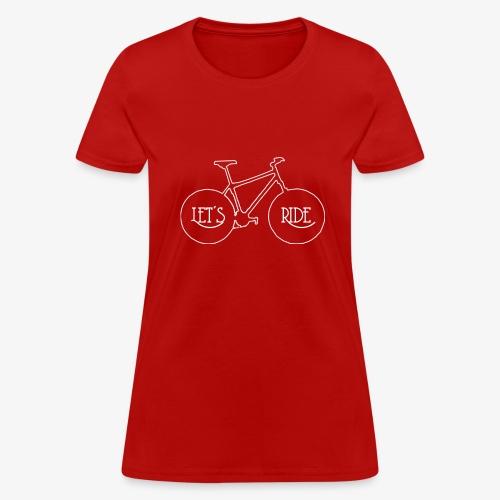 Let's Ride - Women's T-Shirt