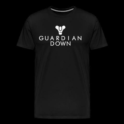 Guardian Down (Black) - Men's Premium T-Shirt