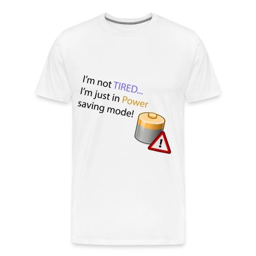 Power Saving Mode - Men's Premium T-Shirt