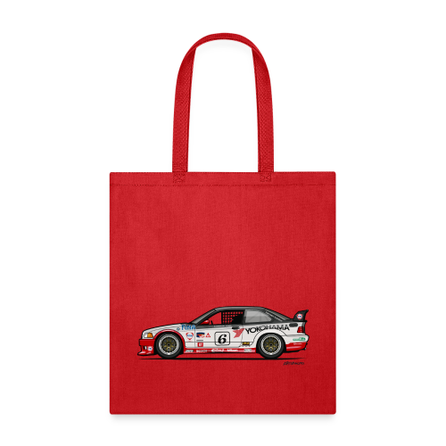E36 GTS-2 PTG Race Car - Tote Bag