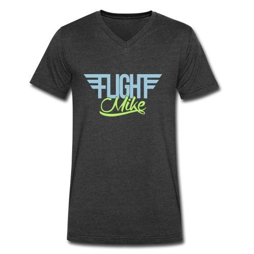 Flight Mike V Neck - Men's V-Neck T-Shirt by Canvas