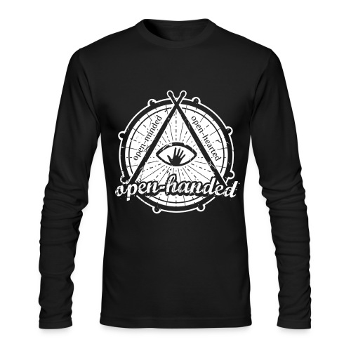 Open-Handed - Men's Long Sleeve T-Shirt by Next Level
