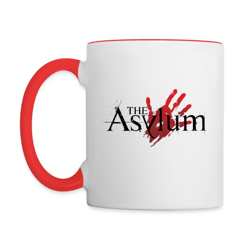 Red and White Mug - Contrast Coffee Mug
