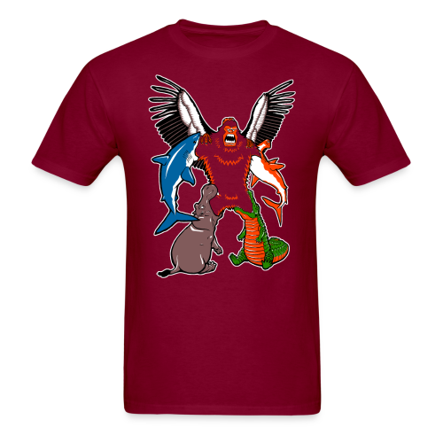 SASQUATCHTRON - Men's T-Shirt