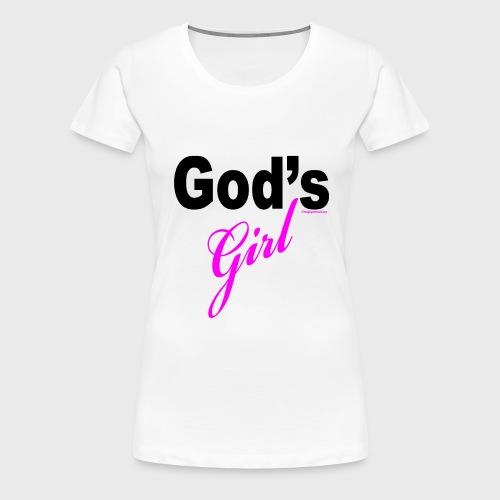 God's Girl - Women's Premium T-Shirt