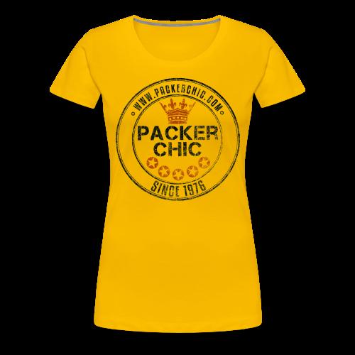 Packer Chic Retro T-shirt - Women's Premium T-Shirt