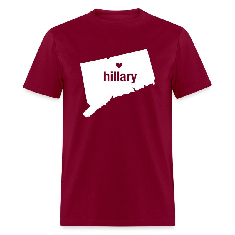 Connecticut Loves Hillary T Shirt Spreadshirt
