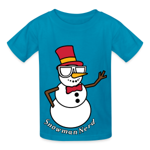 Nerds - Snowman Kids - Kids' T-Shirt