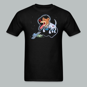 Space Dog #1 - Men's T-Shirt