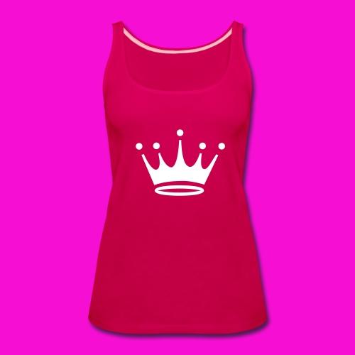 crown tank top  - Women's Premium Tank Top