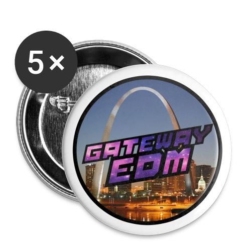 GatewayEDM Small Logo Button - Buttons small 1'' (5-pack)