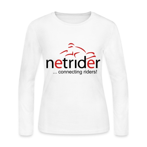 Netrider Women's Long Sleeve T-Shirt - Women's Long Sleeve Jersey T-Shirt