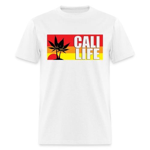 CALI LIFE Men's Classic Gildan T-Shirt - Men's T-Shirt