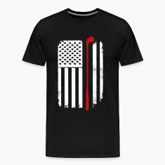 Golf USA flag T-Shirt