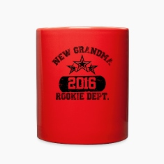 New Grandma 2016 Rookie Dept, Mugs & Drinkware