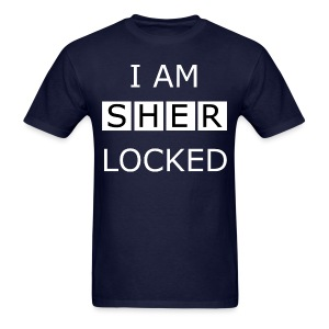 Sherlocked - Men's T-shirt - Men's T-Shirt