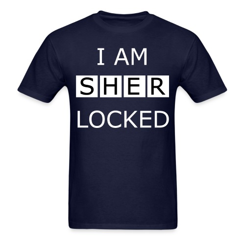 Sherlocked - Men's T-shirt - Men's T-Shirt