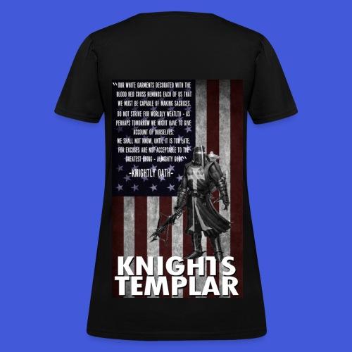 Knightly Oath (Women's) - Women's T-Shirt