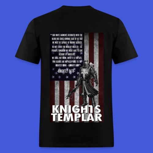 Knightly Oath (Men's) - Men's T-Shirt