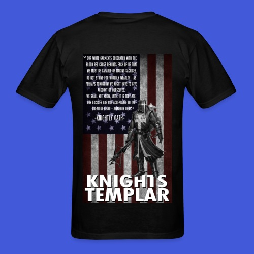 Knightly Oath (Men's) - Men's T-Shirt