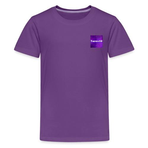 Travers50 Corner Branded Shirt - Kids' Premium T-Shirt