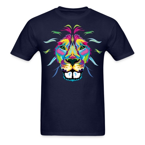 Colored Lion - Men's T-Shirt