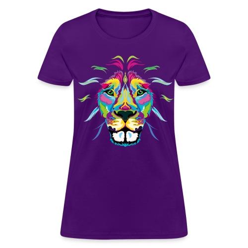 Colored Lion - Women's T-Shirt