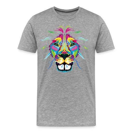Colored Lion - Men's Premium T-Shirt