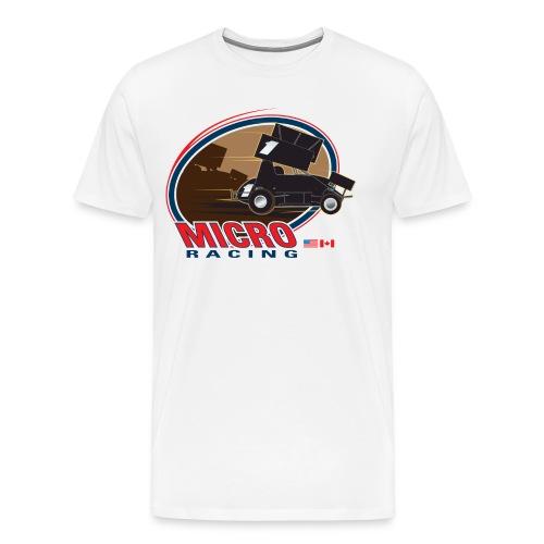 Micro Sprint Racing - Men's Premium T-Shirt
