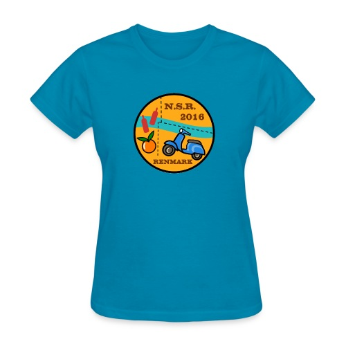 Women's T shirt with 2016 NSR logo - Women's T-Shirt