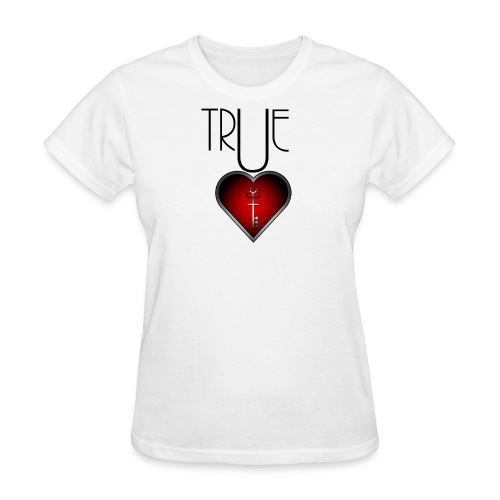 True Heart Locket - Women's T-Shirt