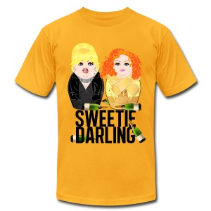 Sweetie Darling / Fabulous Realness 2.0 - Men's T-Shirt by American Apparel