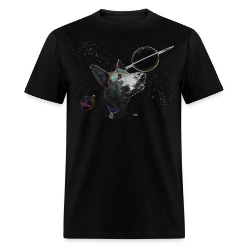 Space Dog tshirt - Men's T-Shirt