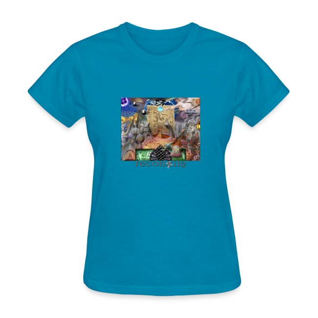 Ancient Astronaut Theory - womens t shirt