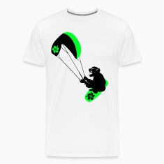 kiteboarder monkey T-Shirts