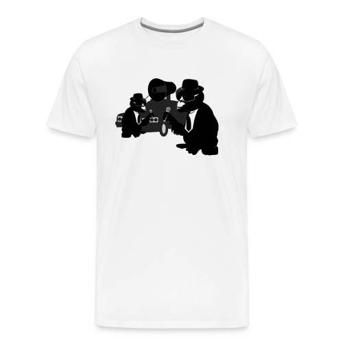 blues brothers monkeys - Men's Premium T-Shirt