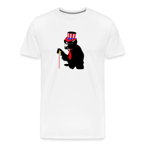usa monkey i want you - Men's Premium T-Shirt