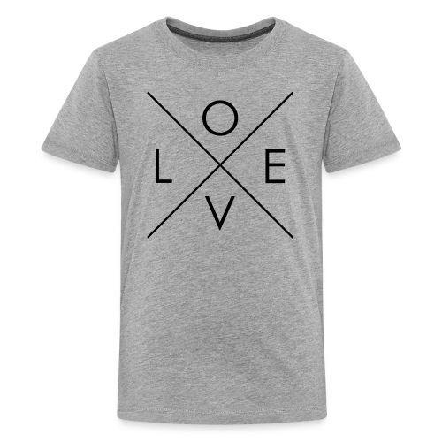 L | O | V | E Comfy Tee for Kids - Kids' Premium T-Shirt